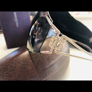 NWT BOUCHERON palladium sunglasses